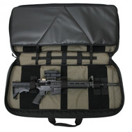 "Tactical Tailor Covert Carry Double Rifle Case - 36"" Black/Grey"