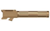 Lantac Glock 9INE G19 Fluted Upgrade Barrel - Bronze