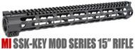 "Midwest Industries 15"" SSK Keymod Handguard (SSK-15) - Black"