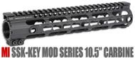 "Midwest Industries 10.5"" SSK Keymod Handguard (SSK-10) - Black"
