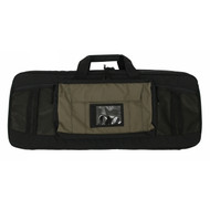 "Tactical Tailor Covert Carry Case 36"" Double Rifle - Black/Coyote Brown"