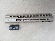 Noveske NSR-11 Handguard - FDE Cerakote