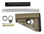 LaRue R.A.T. Stock Kit (Mil-Spec) - FDE