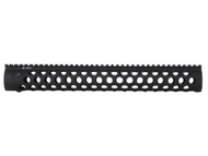 "Troy Alpha Rail 15"" No Sight - Black"