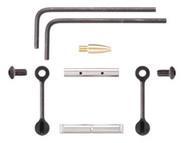 KNS AR15 Gen 2 Mod 2 Non-Rotating Trigger/Hammer Pins .155 (Black)