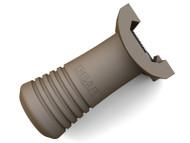 Gear Sector Rail Mount Vertical Grip (Patriot Brown)