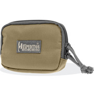 "Maxpedition Hook-and-Loop 3""x5"" Zipper Pocket (Khaki-Foliage)"