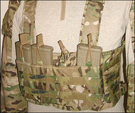 VTAC Molle Chest Rig (Coyote)
