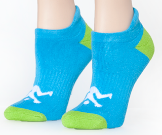 Ankle Ladies Socks Turquoise Sport