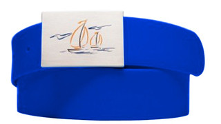Sailboat Logo Royal Blue