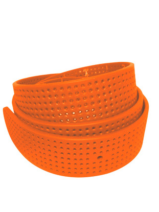 Strap OnlyTangerine Perforated