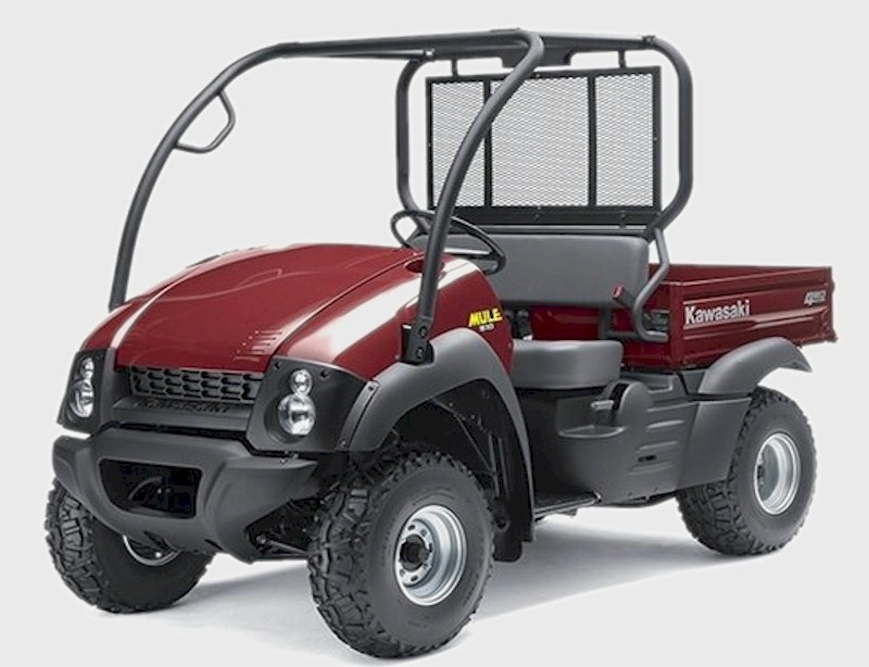 Mule 610 Bumper : Kawasaki mule parts and accessories