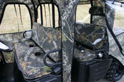 Greene Mountain '08-09 Polaris Ranger Crew Seat Covers