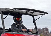 SuperATV '15+ Polaris Ranger 570/EV/ETX Mid Size Flip Out Windshield