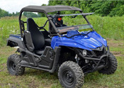 SuperATV '15+ Yamaha Wolverine Flip Out Windshield