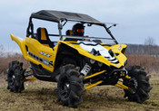 SuperATV '16+ Yamaha YXZ Flip Out Windshield