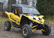 SuperATV '16+ Yamaha YXZ Full Windshield