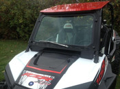 EMP Polaris RZR 900/1000 Glass Windshield w/ Manual Wiper