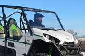 SuperATV '12-15 Kawasaki Teryx 4/'14-15 Teryx Full Windshield