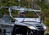 SuperATV Arctic Cat Wildcat Trail/Sport Flip Up Windshield