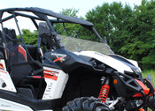SuperATV Can Am Maverick Half Windshield