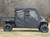 GCL '08-09 Polaris Ranger 700 Crew Full Cab for Hard Windshield