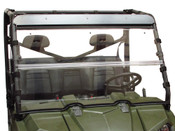 Seizmik '10-14 Polaris Ranger Full Size Acrylic Versa Flip Windshield