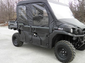 GCL Kawasaki Mule PRO FXT Full Cab w/ Vinyl Windshield