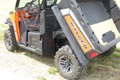 Trail Armor Ranger XP 1000, Ranger Crew XP 1000 Underbed Mud Shield with Fender Extensions