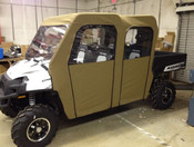 Greene Mountain '10-14 Polaris Ranger 800 Full Size Crew Cab Enclosure