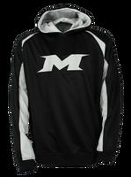 Miken M-Logo Hoodie Black/White