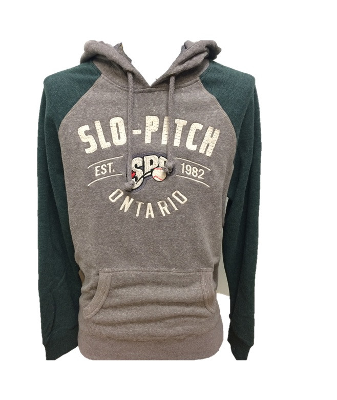 SPO Campus Crew Mens Hoodie - Forest