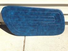 Door panels Blue