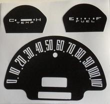 Decal sticker Speedo Cluster Overlay