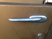 jeepster commando outside door handle pull