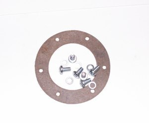 Fuel sender unit install kit Cork gasket, six machine screws with lock washers