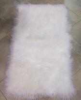 Bleached White Tibetan Lamb Plate