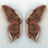 Vertical Planter - Butterfly wings (pair)