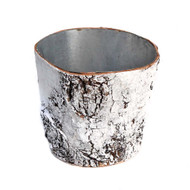 Birch Wood Pot