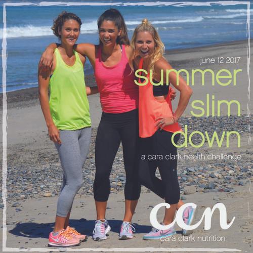 Summer Slim Down 2 Week Challenge + BBQ Cookbook