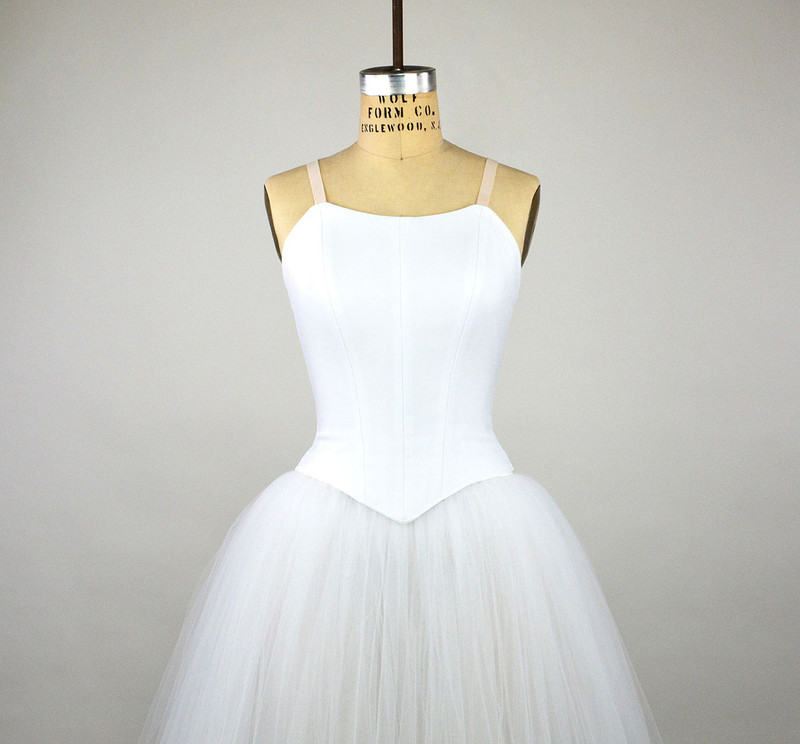 Conservatory C504 bodice with C600 romantic tutu