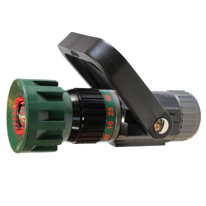 """5 - 40 GPM 1"""" Low Flow select gallonage non pistol grip version nozzle"""