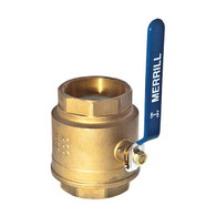 "4"" Brass Full Port Valve MODEL #BFPV400"