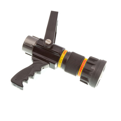 "80 - 200 GPM 1 1/2"" automatic nozzle with pistol grip"