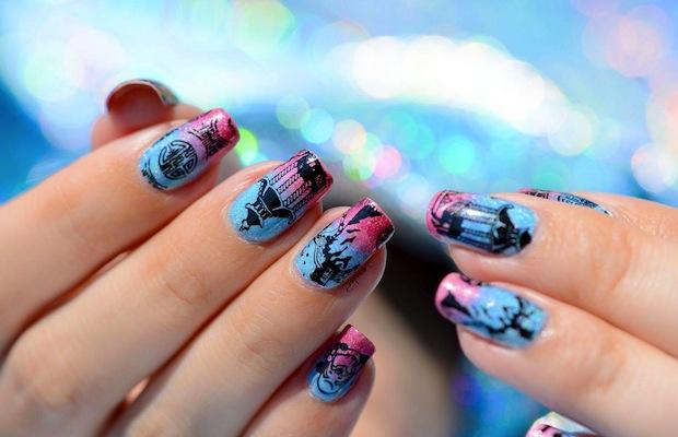 Nail Art Airbrushing Nails Spray Gunner