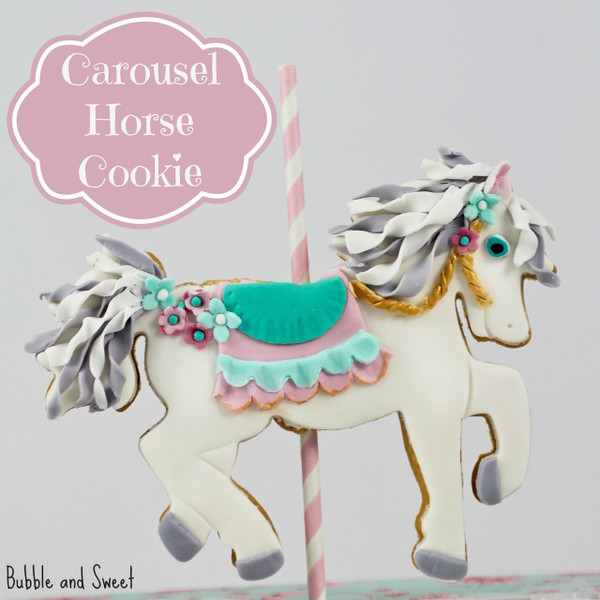 Decorated cookie by Bubble and Sweet!