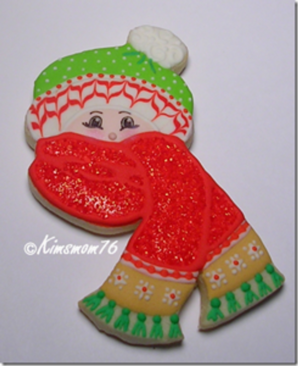 cookie decorated by kimsmom76