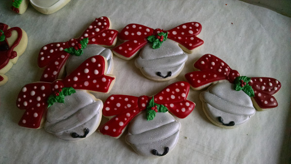 Decorated cookies done by Susan Welker!