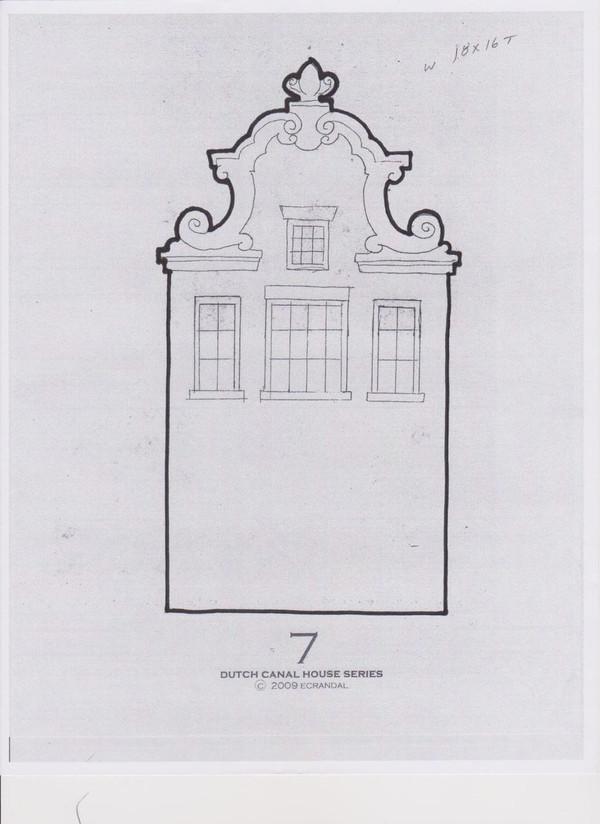 DUTCH CANAL HOUSE #7