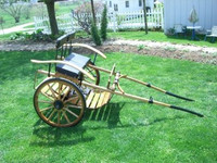 #178  Meadow Brook Cart with Wooden Wheels